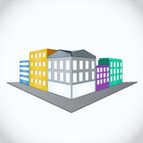 City, vector illustration Royalty Free Stock Image