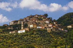 City of Vellano, Tuscany, Italy Stock Images
