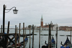 The city of  venice Royalty Free Stock Images