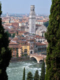 City of Verona Italy Stock Photography