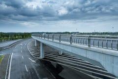 City viaduct Royalty Free Stock Photos
