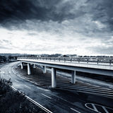 City viaduct Royalty Free Stock Images