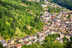 The city of Vianden, Luxembourg Stock Photo