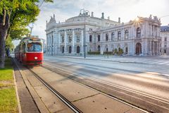 City of Vienna, Austria. Royalty Free Stock Images