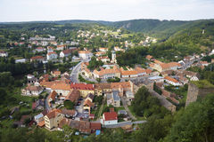 City view. From above in Czech republic Royalty Free Stock Images
