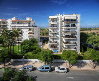 City view from above, Cambrils, Spain Stock Image