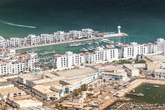 City view of Agadir, Morocco Royalty Free Stock Image