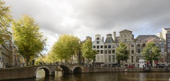 City view of amsterdam Royalty Free Stock Image