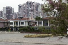 A City View - Apartments and Self Contained Houses. Photo has taken Mavisehir/Izmir. A good view from big living quarters Stock Photography