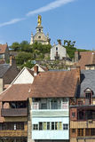 City view of Argenton-sur-Creuse, France Royalty Free Stock Images