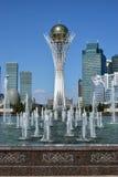 A city view in Astana / Kazakhstan Royalty Free Stock Photos