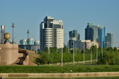 A city view  in Astana / Kazakhstan Royalty Free Stock Photo
