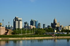 A city view  in Astana / Kazakhstan Royalty Free Stock Photography