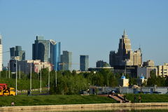 A city view  in Astana / Kazakhstan Stock Images
