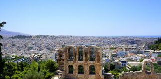 City view of Athens Stock Image