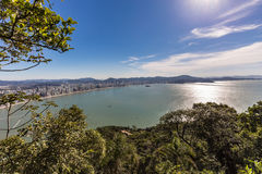 City View of Balneario Camboriu beach. Santa Catarina Royalty Free Stock Images