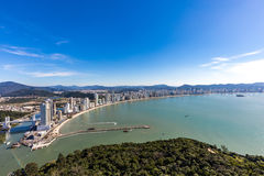 City View of Balneario Camboriu beach. Santa Catarina Royalty Free Stock Photography