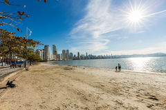 City View of Balneario Camboriu beach. Santa Catarina Stock Photos