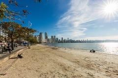 City View of Balneario Camboriu beach. Santa Catarina Stock Image