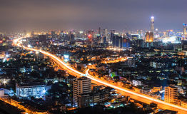 City view at Bangkok Stock Photo