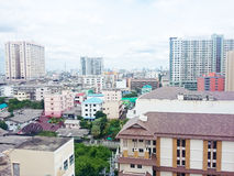 The city view of Bangkok Stock Photos