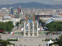 City view of Barcelona Royalty Free Stock Photo