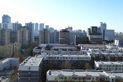 City View of the BEIJIG,CHINA stock video footage