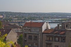 City view of Belgrade Stock Photo