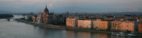 City view of Budapest Royalty Free Stock Image