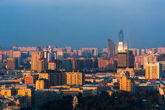 City view of the capital in Baku, Azerbaijan Stock Image