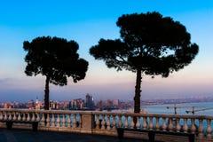 City view of the capital in Baku, Azerbaijan Stock Images