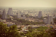 City view of city of Tiruvanumalai, Tamilnadu, India Stock Photography