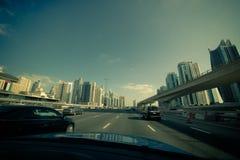 City view, Dubai Stock Photo