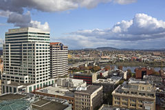 City View East From Downtown Portland, OR Royalty Free Stock Image