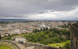 City view of Edinburgh stock photography