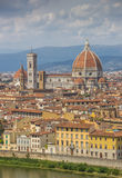 City view of Florence and the Duomo Stock Photo