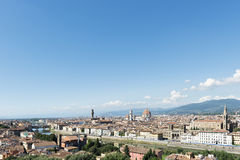 City view Florence Royalty Free Stock Images