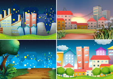 City view Stock Images