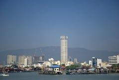 City view, Georgetown, Penang, Malaysia Stock Photo