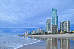 City view at Gold Coast Stock Image
