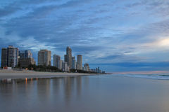 City view at Gold Coast Stock Photo