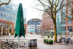 City view of Hamburg, Germany Stock Image