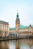 City view of Hamburg, Germany Stock Images
