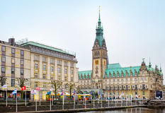 City view of Hamburg, Germany Royalty Free Stock Images