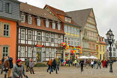 City view of Hamelin, a town in Lower Saxony Royalty Free Stock Photography