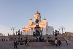 City view. Helsinki, Finland, Autumm Royalty Free Stock Photography
