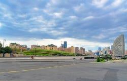 City view from Heydar Aliyev Center. Baku Royalty Free Stock Photos