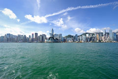 City view Hongkong Stock Photo