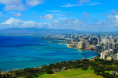 City view Honolulu Stock Photography