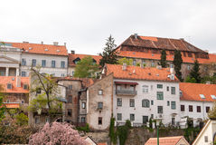 City view of houses at Medvescak. Zagreb, Croatia Stock Photography